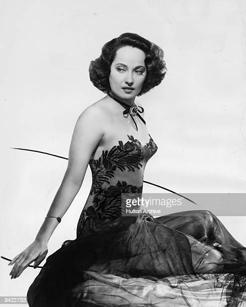 Leading lady Merle Oberon as she appears in the film 'First Comes Courage' a war drama directed by Dorothy Arzner