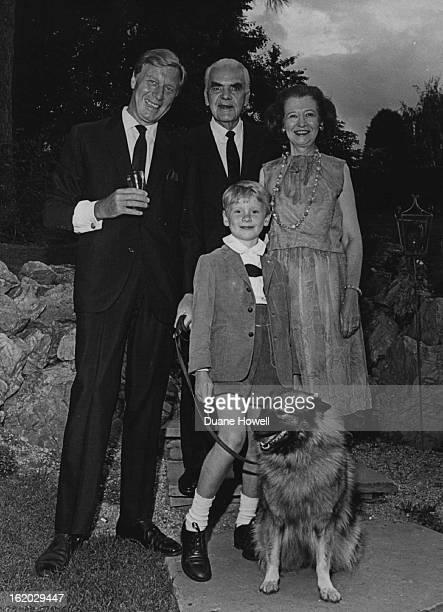 AUG 16 1965 AUG 18 1965 AUG 22 1965 Leading man George Gaynes left his son Matthew