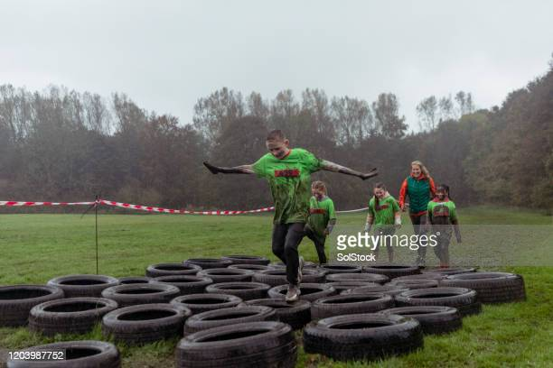 leading the way - endurance race stock pictures, royalty-free photos & images