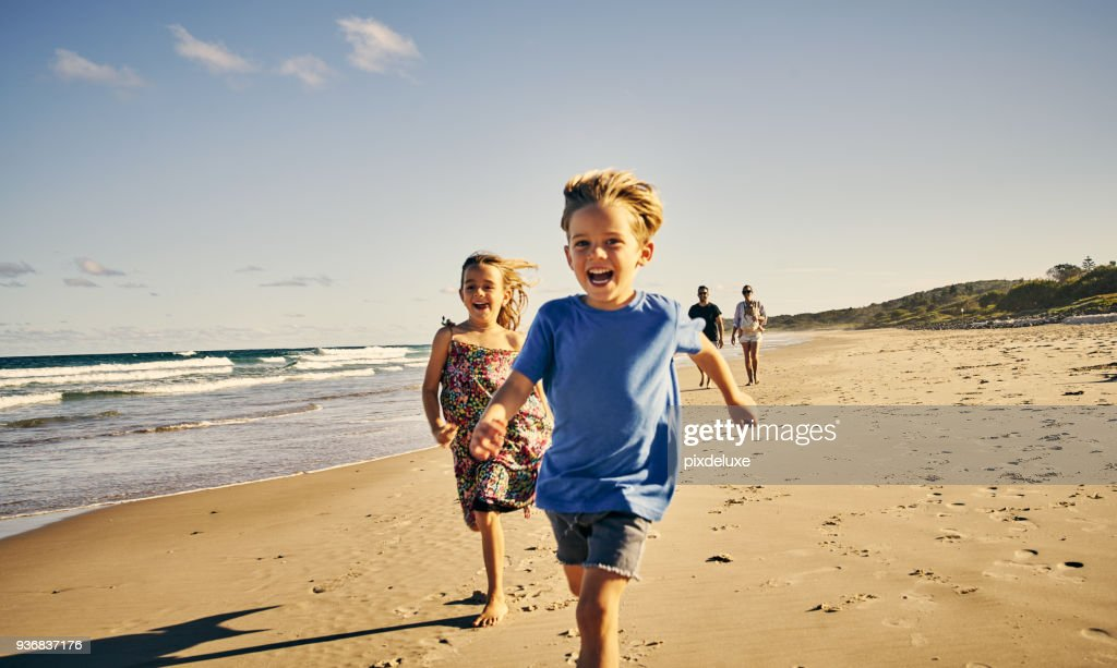 Leading the way to a day of fun : Stock Photo