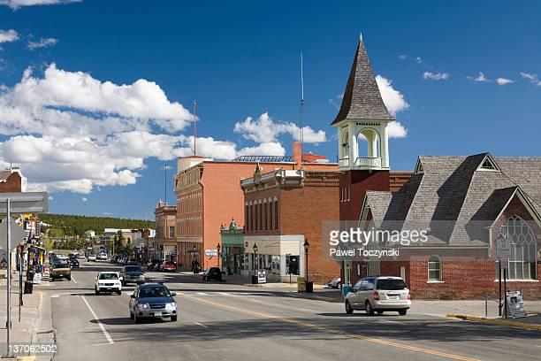 leadville, colorado, usa - colorado stock pictures, royalty-free photos & images