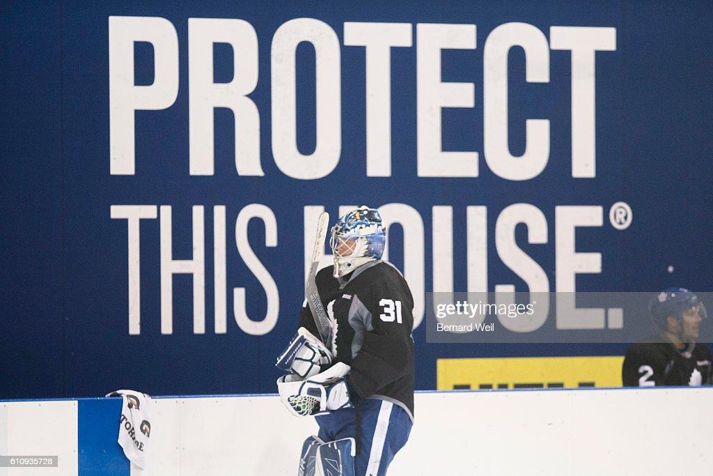 Toronto Maple Leafs Practice : News Photo