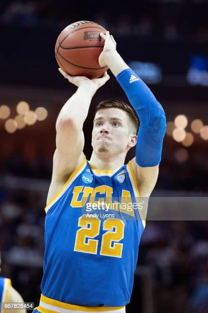 Leaf of the UCLA Bruins shoots a free throw against the Kentucky Wildcats during the 2017 NCAA Men's Basketball Tournament South Regional at...
