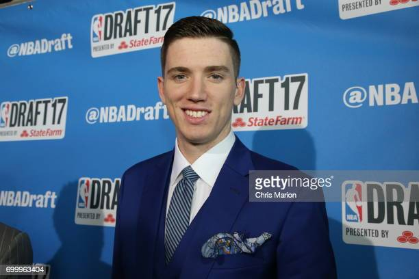 Leaf poses for a photo on the red carpet prior to the 2017 NBA Draft on June 22 2017 at Barclays Center in Brooklyn New York NOTE TO USER User...