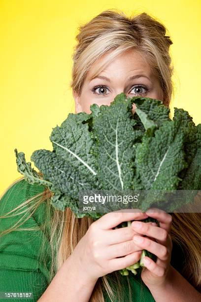 Üppig grünen Gemüse