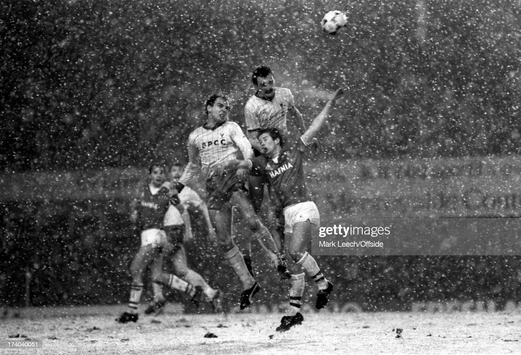 Goodison Snow : News Photo