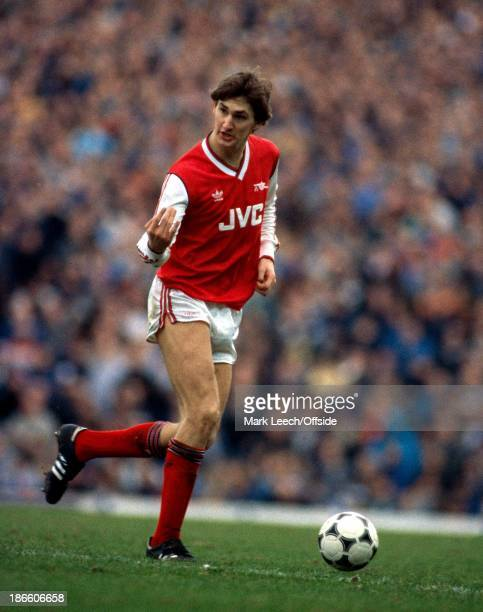 League Cup SemiFinal Arsenal v Tottenham Hotspur Tony Adams of Arsenal