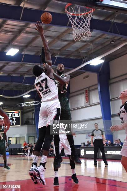 League Showcase Game 16 between the Wisconsin Herd and the Austin Spurs on January 12 2018 at the Hershey Centre in Mississauga Ontario Canada NOTE...