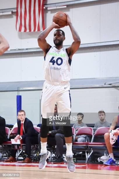 League Showcase Game 20 between the Grand Rapids Drive and the Iowa Wolves on January 12 2018 at the Hershey Centre in Mississauga Ontario Canada...