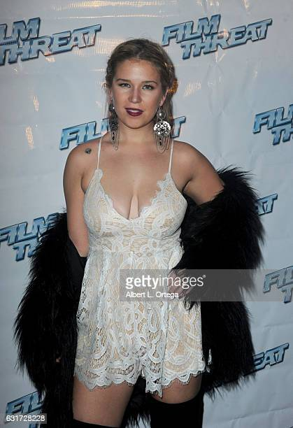 Leah Amauer at the Launch Party For 'Film Threat' Online held at The Berrics on January 14 2017 in Los Angeles California
