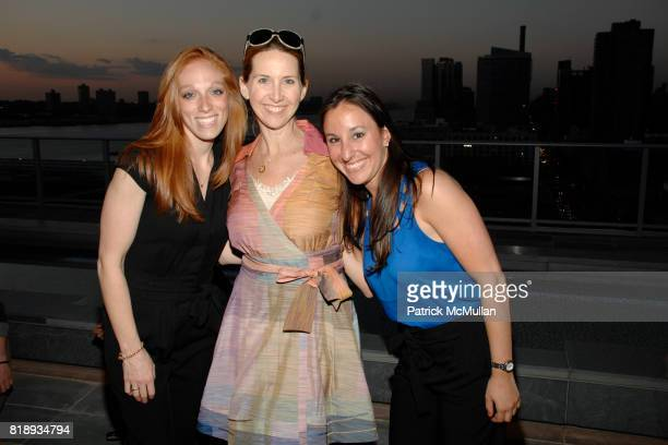 Leah Blank Kirsten Brant and Alana Moskowitz attend First Summer Soiree CELEBRATING 25 YEARS of DIFFA hosted by David Rockwell Whoopi Goldberg and...