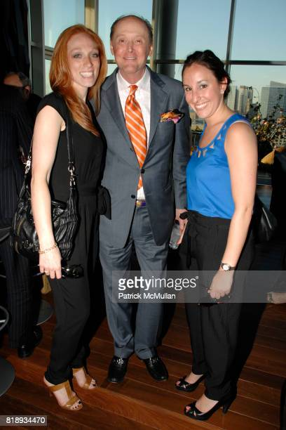 Leah Blank Michael Zabriskie and Alana Moskowitz attend First Summer Soiree CELEBRATING 25 YEARS of DIFFA hosted by David Rockwell Whoopi Goldberg...