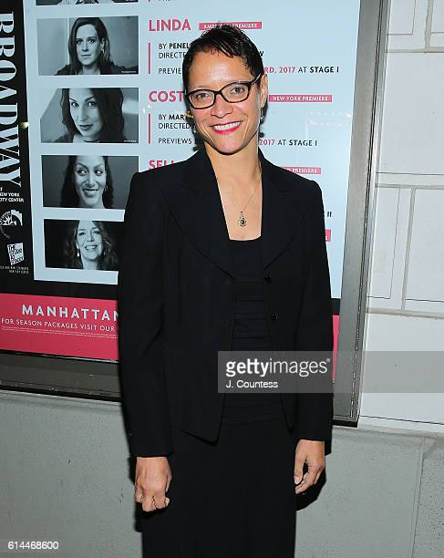 Leah C Gardiner attends the Broadway opening night of 'Heisenberg' at the Samuel J Friedman Theatre on October 13 2016 in New York City