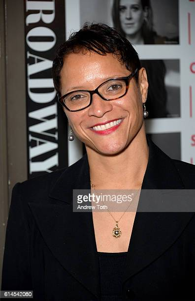 Leah C Gardiner attends the 'Heisenberg' Broadway opening night at Samuel J Friedman Theatre on October 13 2016 in New York City