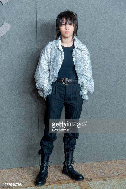 Leah Dou attends the Chanel Metiers D'Art 2018/19 Show at The Metropolitan Museum of Art on December 04 2018 in New York City
