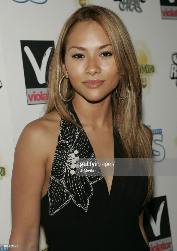 Leah during Billboard Magazine and A Diamond is Forever Host 'Millions in Diamonds on Ice' at Sagamore Hotel Pool in Miami, Florida, United States.
