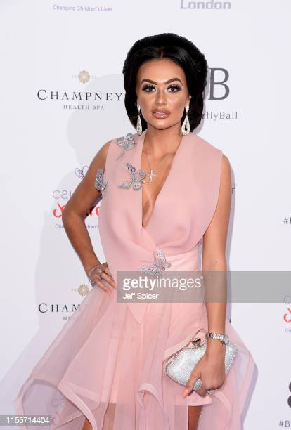 Leah Fletcher attends the Caudwell Children Butterfly Ball 2019 at The Grosvenor House Hotel on June 13 2019 in London England