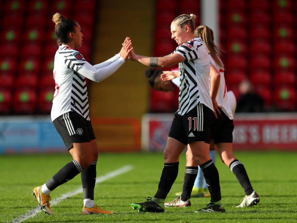 GBR: Aston Villa Women v Manchester United Women - Barclays FA Women's Super League