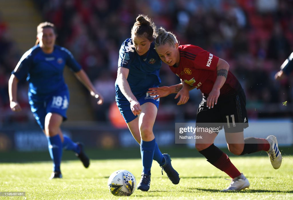 Manchester United Women v Lewes Women - WSL : News Photo