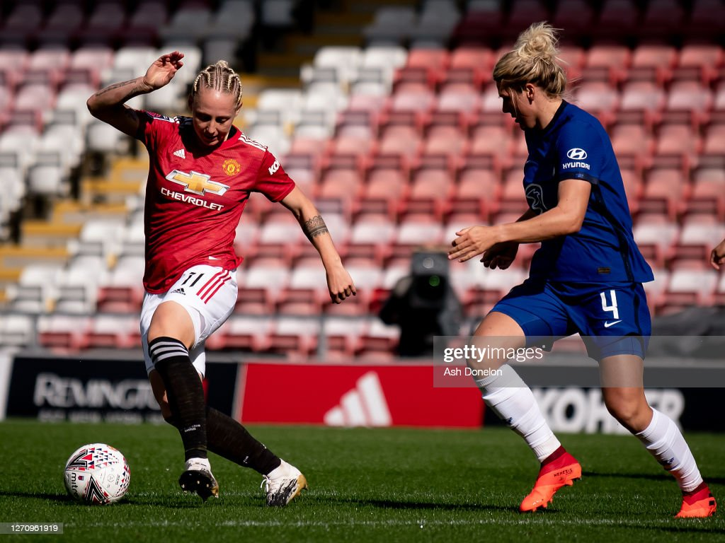 Manchester United Women v Chelsea Women: Barclays FA WSL : News Photo