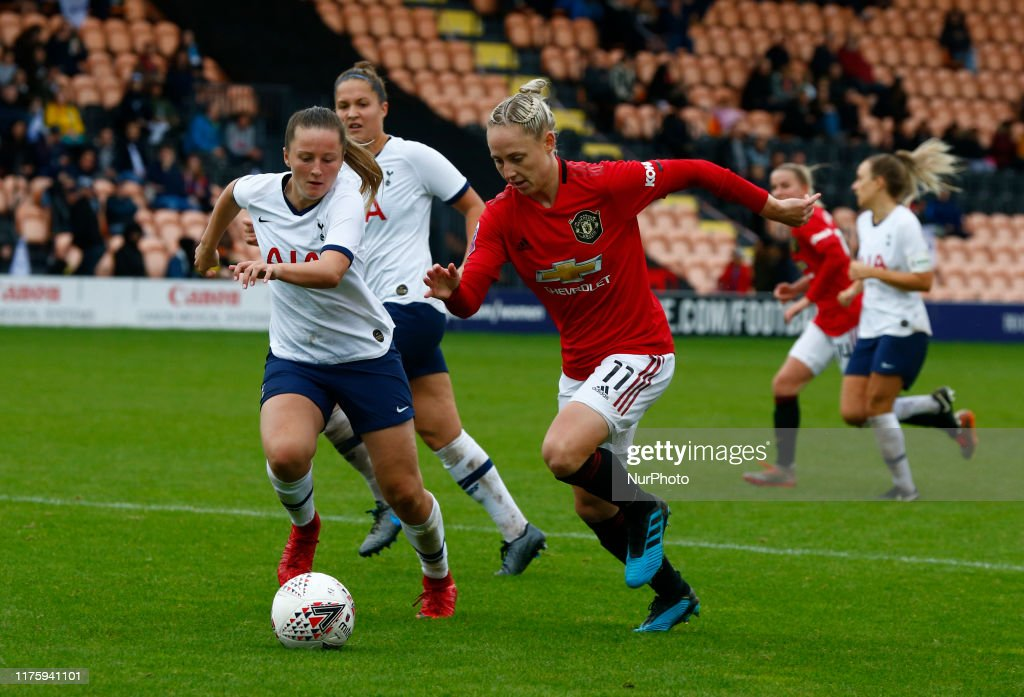 Tottenham Hotspur v Manchester United - Barclays FA Women's Super League : News Photo