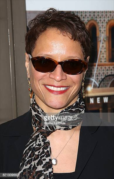 Leah Gardiner attends the Broadway Opening Night performance of 'The Father' at The Samuel J Friedman Theatre on April 14 2016 in New York City