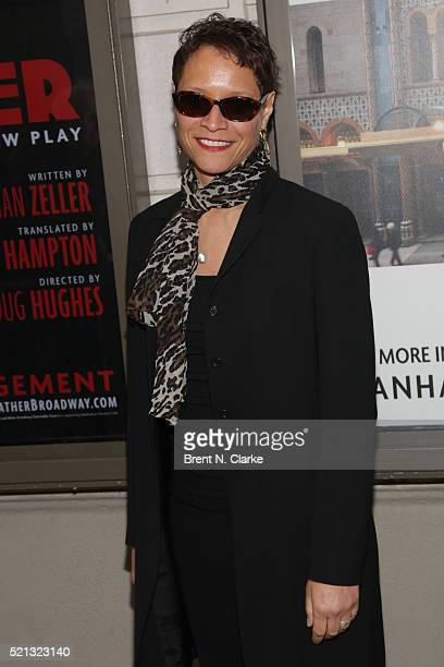 Leah Gardiner attends the opening night of 'The Father' held at the Samuel J Friedman Theatre on April 14 2016 in New York City