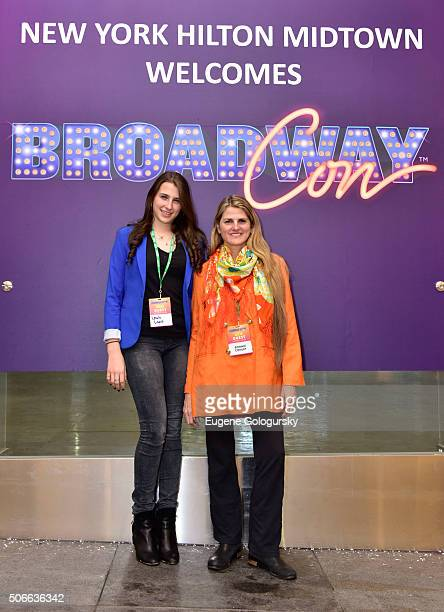 Leah Lane, and Bonnie Comley attend BroadwayCon: All The World's A Stage, With Panelists Bonnie Comley, Leah Lane, Randy Weiner, Anita Durst, Kevin...
