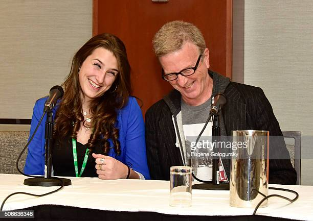 Leah Lane and Kevin Hayes attend BroadwayCon All The World's A Stage With Panelists Bonnie Comley Leah Lane Randy Weiner Anita Durst Kevin Hayes at...