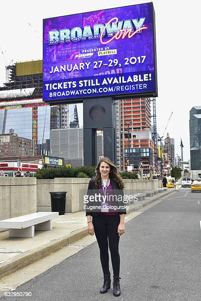 Leah Lane attends BroadwayCon 2017 at The Jacob K. Javits Convention Center on January 28, 2017 in New York City.