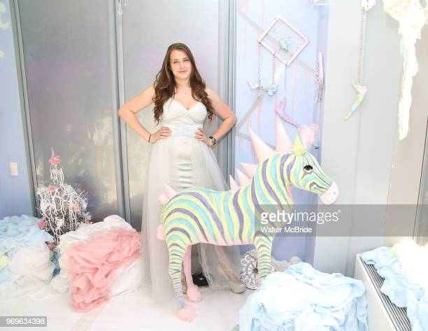 Leah Lane during The Chashama Gala at 4 Times Square on June 7 2018 in New York City