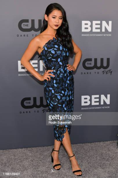 Leah Lewis attends The CW's Summer 2019 TCA Party sponsored by Branded Entertainment Network at The Beverly Hilton Hotel on August 04 2019 in Beverly...