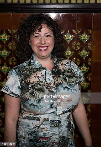 Leah Linder attends the first Tumblr Fashion Honor presented to Rodarte at The Jane Hotel on September 9 2014 in New York United States