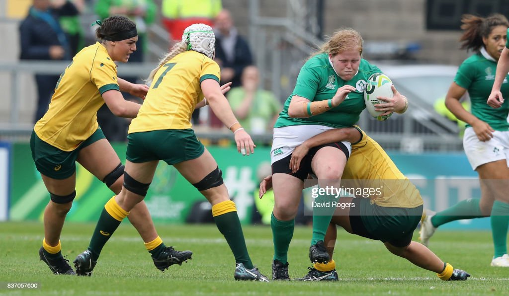 Ireland v Australia - Women's Rugby World Cup 2017 : News Photo