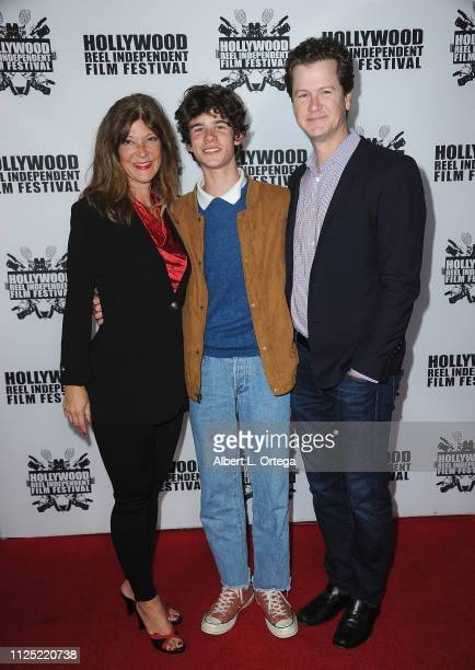 Leah Mangum Chase Mangum and Jonathan Mangum arrive for The 2019 Hollywood Reel Independent Film Festival held at Regal LA Live Stadium 14 on...