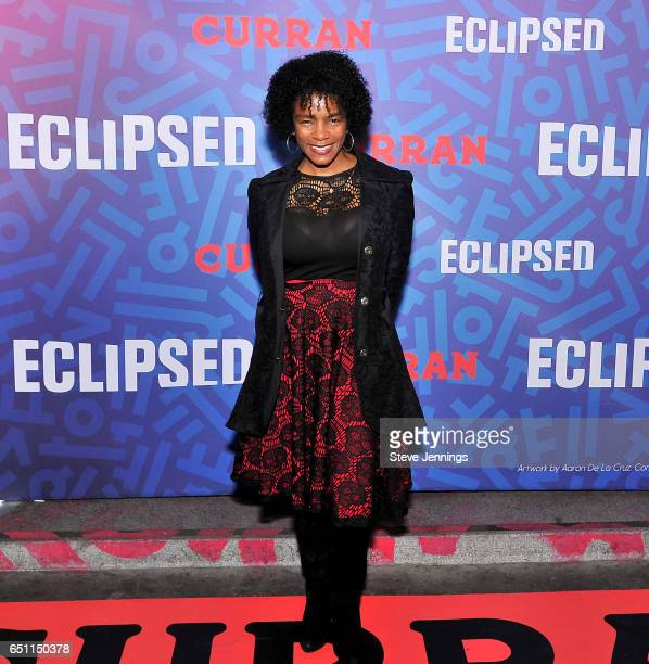 Leah McGowanHare attends the celebration of Women's History Month on it's Opening Night of Eclipsed at the Curran Theater on March 9 2017 in San...