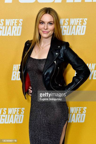 """Leah McSweeney attends the """"Hitman's Wife's Bodyguard"""" special screening at Crosby Street Hotel on June 14, 2021 in New York City."""