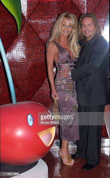 Leah Neal and Vince Neal during Grand Opening of Cherry Nightclub in Las Vegas April 22 2006 at Red Rock Casino Resort and Spa in Las Vegas Nevada...