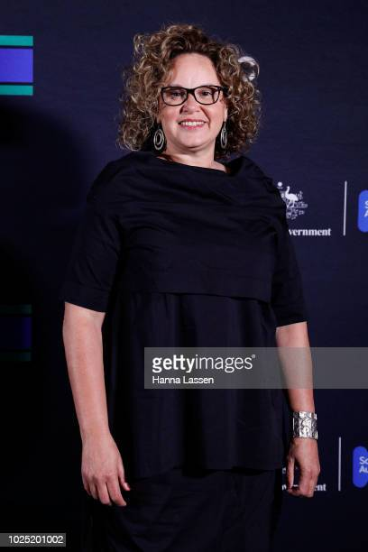 Leah Purcell attends the 25th Anniversary of Screen Australia's Indigenous Department at Carriageworks on August 30 2018 in Sydney Australia