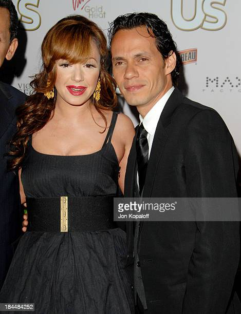 Leah Remini and Marc Anthony during Us Weekly Presents Us' Hot Hollywood 2007 Arrivals at Sugar in Hollywood California United States