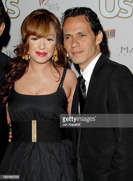 Leah Remini and Marc Anthony during Us Weekly Presents Us' Hot Hollywood 2007 - Arrivals at Sugar in Hollywood, California, United States.