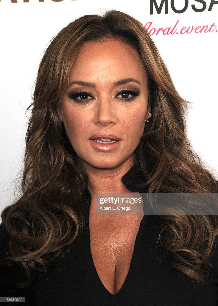 Leah Remini Hosts Viva Glam Issue Launch Party