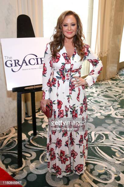Leah Remini at the 44th Annual Gracies Awards, hosted by The Alliance for Women in Media Foundation on May 21, 2019 at the Four Seasons Beverly...