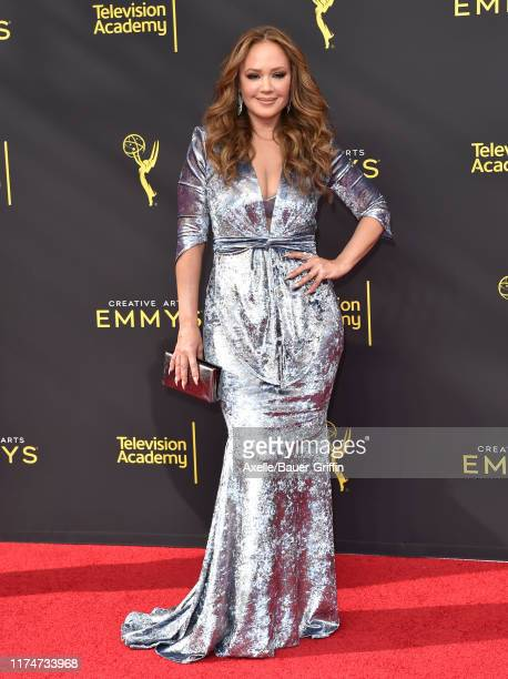 Leah Remini attends the 2019 Creative Arts Emmy Awards on September 14, 2019 in Los Angeles, California.