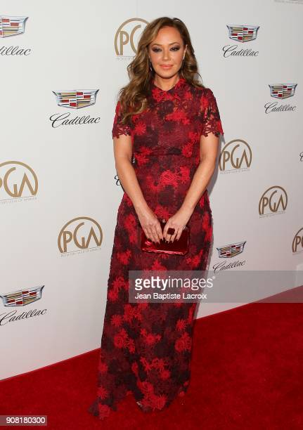 Leah Remini attends the 29th Annual Producers Guild Awards at The Beverly Hilton Hotel on January 20 2018 in Beverly Hills California