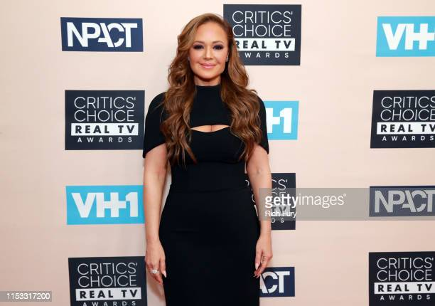 Leah Remini attends the Critics' Choice Real TV Awards at The Beverly Hilton Hotel on June 02, 2019 in Beverly Hills, California.