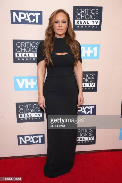 Leah Remini attends the Critics' Choice Real TV Awards on June 02, 2019 in Beverly Hills, California.