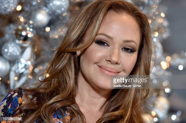 Leah Remini attends the photo call for STX Films' 'Second Act' at Four Seasons Hotel Los Angeles at Beverly Hills on December 09, 2018 in Los...
