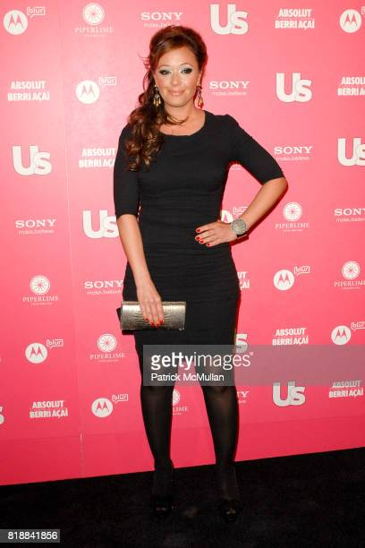 Leah Remini attends Us Weekly Hot Hollywood Style Issue Event at Drai's Hollywood on April 22 2010 in Hollywood California