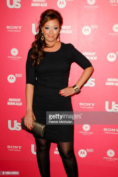 Leah Remini attends Us Weekly Hot Hollywood Style Issue Event at Drai's Hollywood on April 22, 2010 in Hollywood, California.
